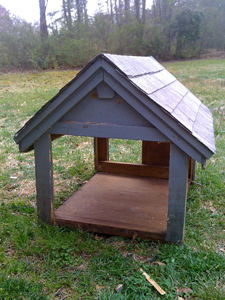Back of the old dog house