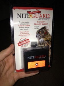 Nite Guard Solar NG-001 Predator Control Light